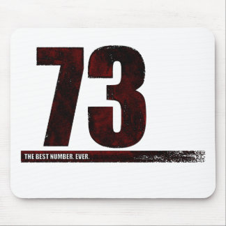 73 - the best number mouse pad