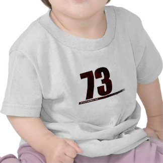 73 - the best number tee shirt
