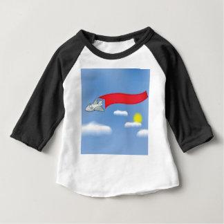 73Plane Banner_rasterized Baby T-Shirt