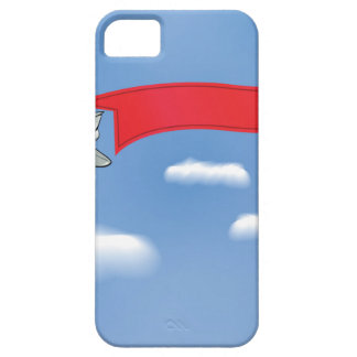 73Plane Banner_rasterized Case For The iPhone 5