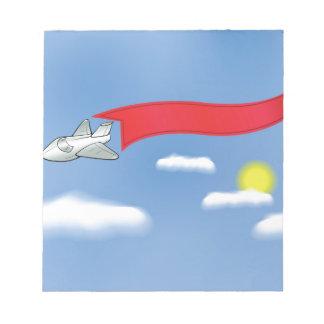 73Plane Banner_rasterized Notepad