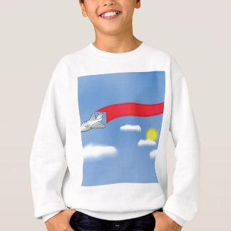 73Plane Banner_rasterized Sweatshirt