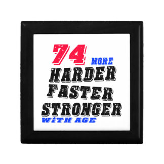 74 More Harder Faster Stronger With Age Gift Box