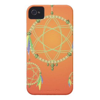 74Dream Catcher_rasterized iPhone 4 Case-Mate Case