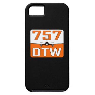 757 DTW Case-Mate Tough iPhone SE /5/5S Case