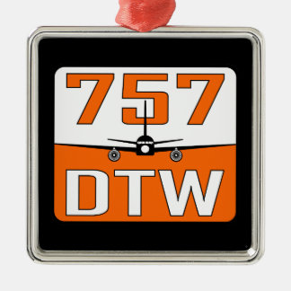 757 DTW Christmas Tree Ornament