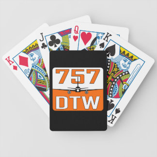 757 DTW Deck of Playing Cards
