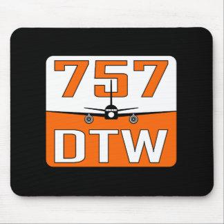 757 DTW Mousepad