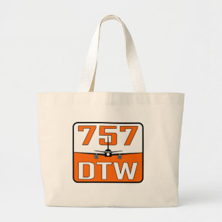 757 DTW Tote Bag