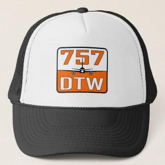 757 DTW Trucker Hat