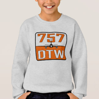757 DTW Youth Medium Sweatshirt