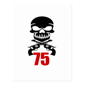 75 Birthday Designs Postcard