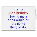 75 buy me a drink