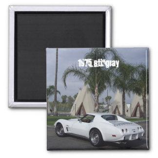 75 Corvette Magnet