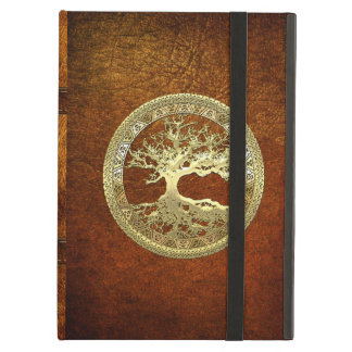 [75] Golden Celtic Tree of Life iPad Air Case