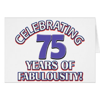 75 Year Old Birthday Cards Photocards Invitations More