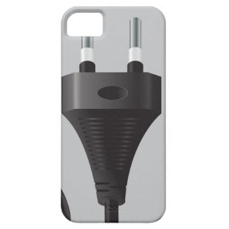 75Power Plug_rasterized iPhone 5 Case