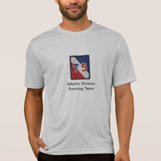 75th Atlantic Division Running Team Shirt