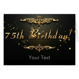 75th Birthday! Card