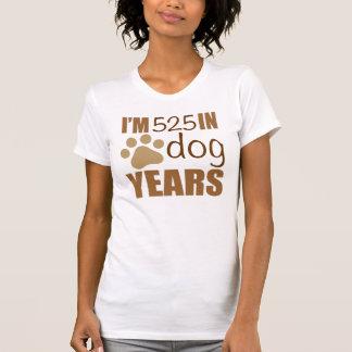 75th Birthday Dog Years T-Shirt