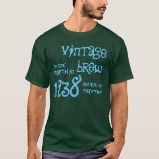 75th Birthday Gift 1938 Vintage Brew Name V9 T-Shirt