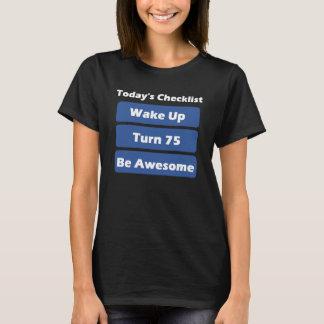 75th Birthday T-Shirt