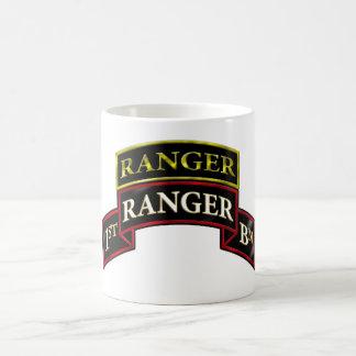 75th Ranger 1st Battalion w/Tab Coffee Mug
