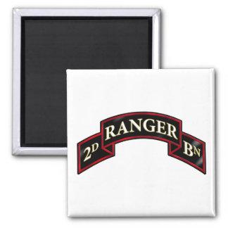 75th Ranger 2nd Battalion Magnet