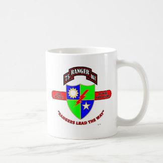 "75TH RANGER BATTALION ""ARMY RANGERS"" CLASSIC WHITE COFFEE MUG"