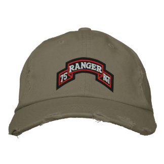 75th Ranger Embroidered Hat