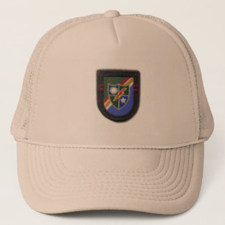 75th Ranger Regimen airborne fort benning veterans Trucker Hat
