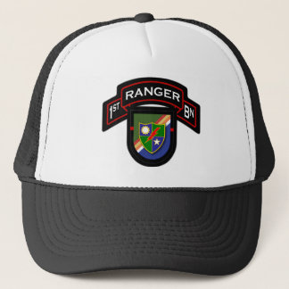 75th Ranger Regiment - Airborne - 1st Battalion Trucker Hat