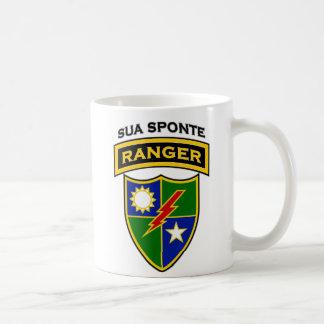 75th Ranger Rgt - scroll & flash Coffee Mugs