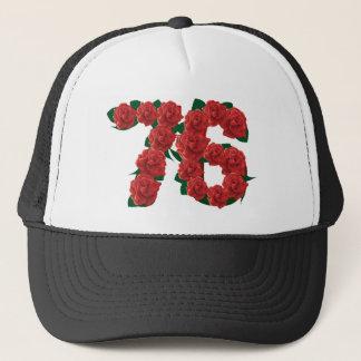 76  76th Birthday Anniversary number Trucker Hat