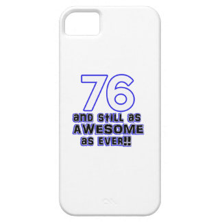 76 birthday design case for the iPhone 5