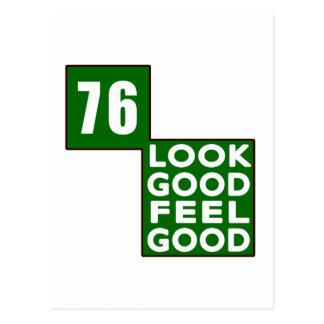 76 Look Good Feel Good Post Card