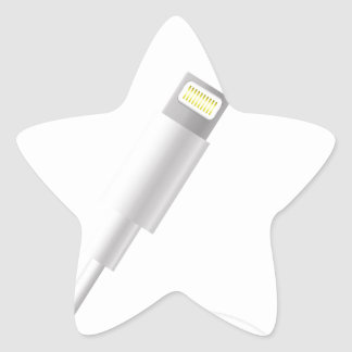 76Smart Phone Connector_rasterized Star Sticker