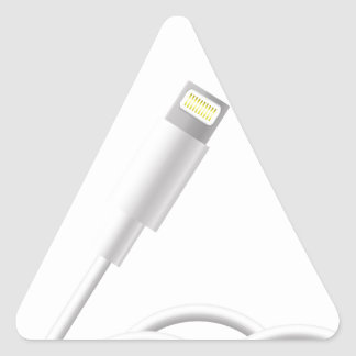 76Smart Phone Connector_rasterized Triangle Sticker