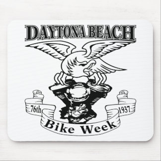 76th Daytona Beach Bike Week Eagle 1937 Mouse Pad
