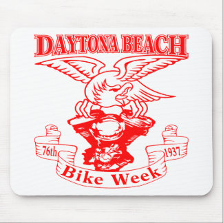 76th Daytona Beach Bike Week Eagle 1937r Mouse Pad