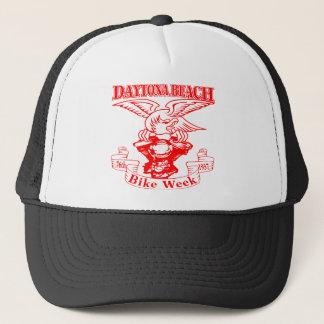 76th Daytona Beach Bike Week Eagle 1937r Trucker Hat
