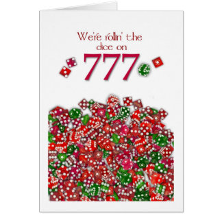 777 Special Date - Special Note Cards