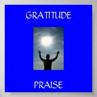 779646_here_i_am, PRAISE , GRATITUDE Poster