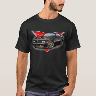 77-78 Black Firebird T-Shirt