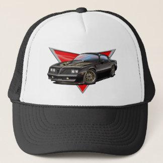 77-78 Black Firebird Trucker Hat