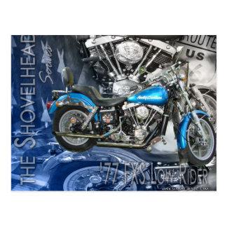 77 FXS Lowrider-the Shovelhead Series Postcard