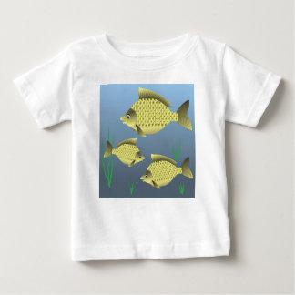 77Fish_rasterized Baby T-Shirt