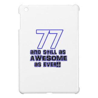 77th birthday design cover for the iPad mini