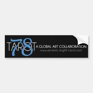 78 Tarot Bumper Sticker