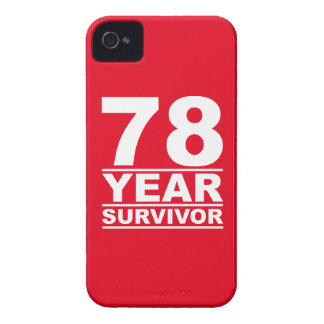 78 year survivor iPhone 4 covers